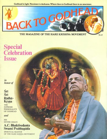 Back To Godhead Volume-01 Number-64, 1974