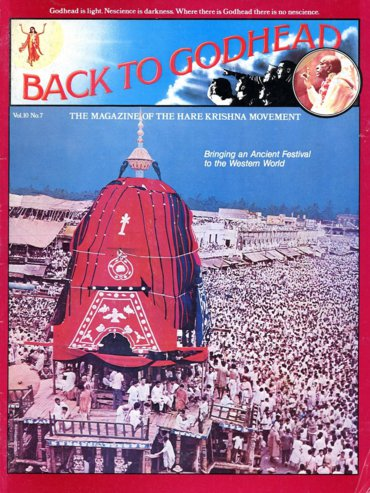Back To Godhead Volume-10 Number-07, 1975