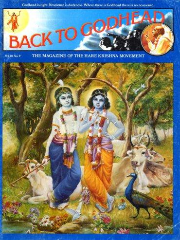 Back To Godhead Volume-10 Number-09, 1975