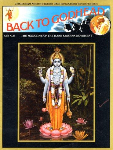 Back To Godhead Volume-10 Number-10, 1975