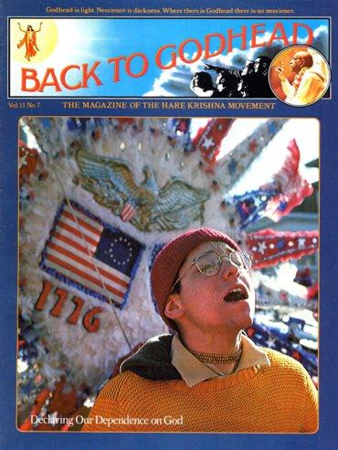 Back To Godhead Volume-11 Number-07, 1976