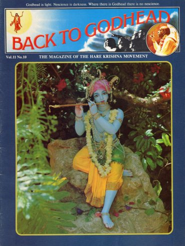 Back To Godhead Volume-11 Number-10, 1976