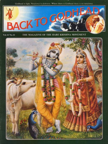 Back To Godhead Volume-11 Number-11, 1976