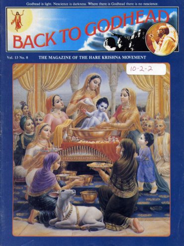 Back To Godhead Volume-13 Number-08, 1978