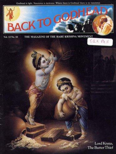 Back To Godhead Volume-13 Number-10, 1978