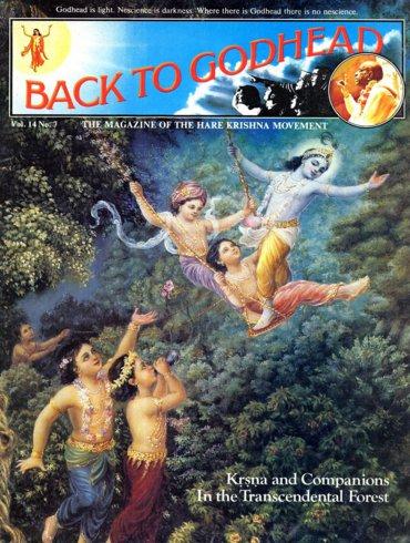 Back To Godhead Volume-14 Number-07, 1979