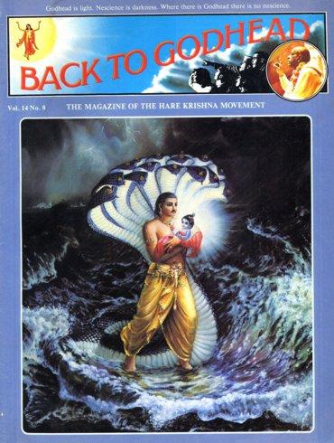 Back To Godhead Volume-14 Number-08, 1979