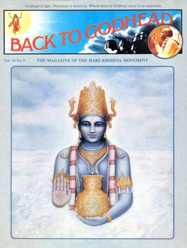 Back To Godhead Volume-14 Number-09, 1979