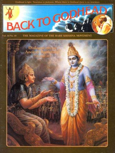 Back To Godhead Volume-14 Number-10, 1979