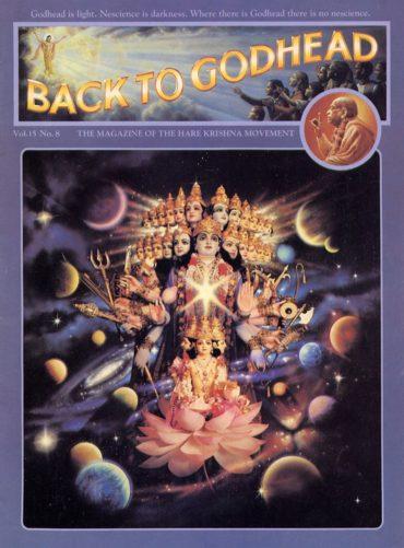 Back To Godhead Volume-15 Number-08, 1980