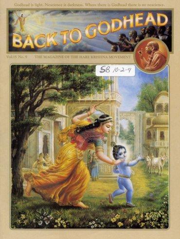 Back To Godhead Volume-15 Number-09, 1980