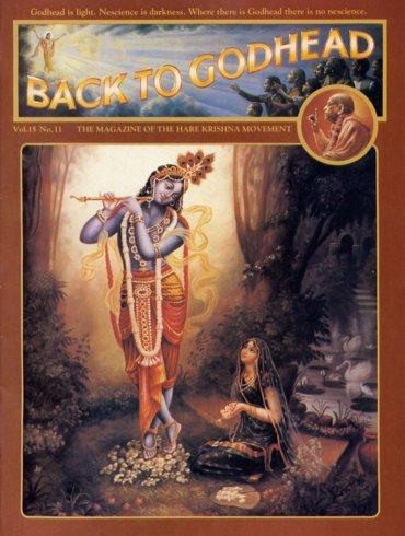 Back To Godhead Volume-15 Number-11, 1980