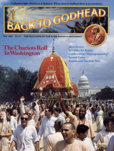 Back To Godhead Volume-17 Number-11, 1982