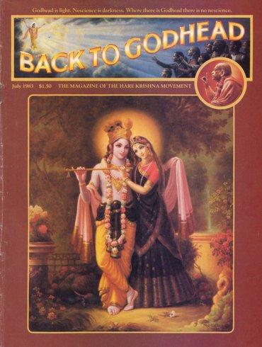 Back To Godhead Volume-18 Number-07, 1983