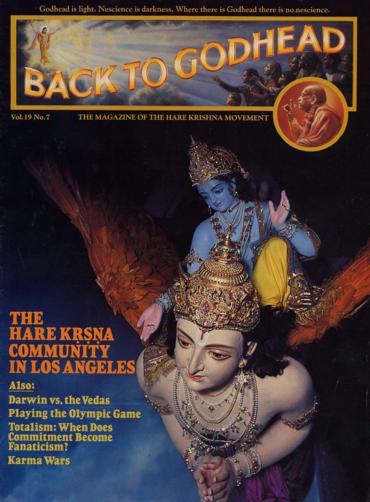 Back To Godhead Volume-19 Number-07, 1984