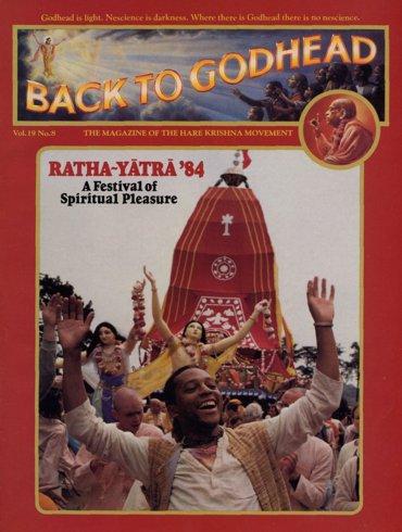 Back To Godhead Volume-19 Number-08, 1984
