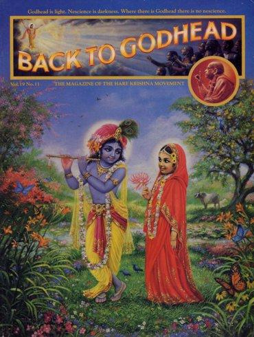 Back To Godhead Volume-19 Number-11, 1984
