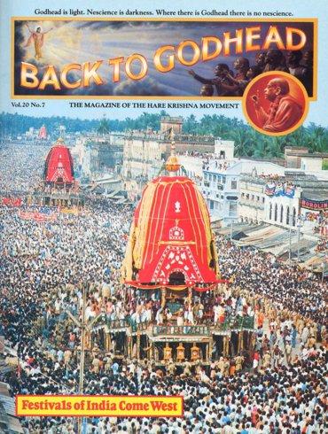 Back To Godhead Volume-20 Number-07, 1985