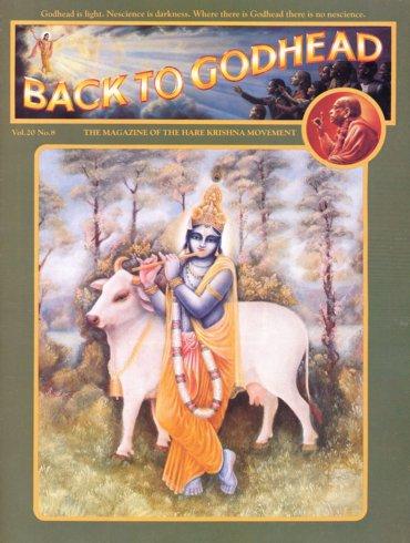 Back To Godhead Volume-20 Number-08, 1985