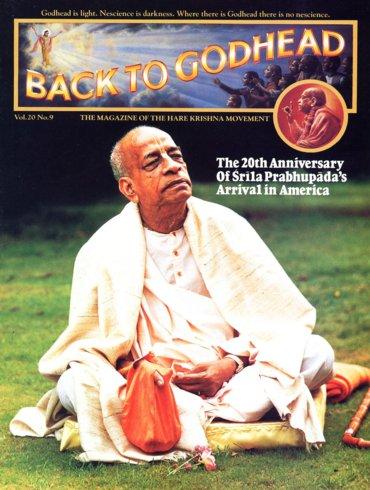Back To Godhead Volume-20 Number-09, 1985
