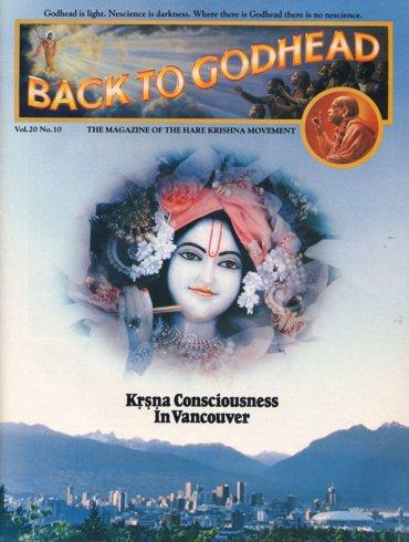 Back To Godhead Volume-20 Number-10, 1985