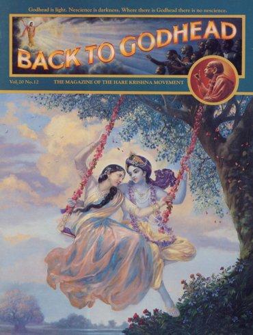 Back To Godhead Volume-20 Number-12, 1985