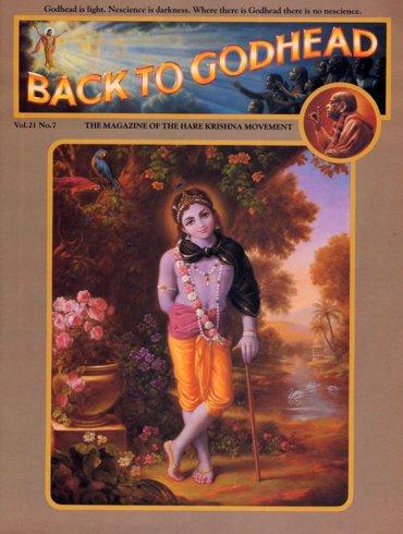 Back To Godhead Volume-21 Number-07, 1986