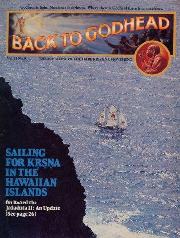 Back To Godhead Volume-21 Number-09, 1986