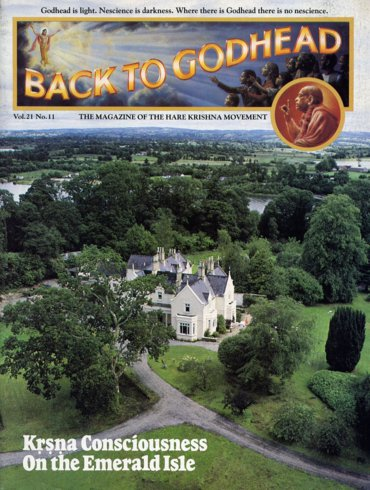 Back To Godhead Volume-21 Number-11, 1986