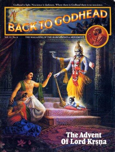 Back To Godhead Volume-22 Number-08, 1987