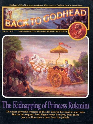 Back To Godhead Volume-22 Number-09, 1987