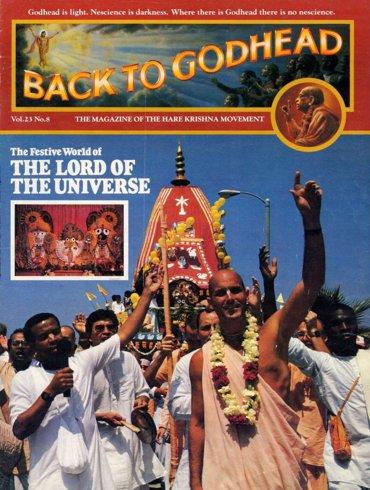 Back To Godhead Volume-23 Number-08, 1988