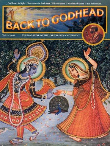 Back To Godhead Volume-23 Number-10, 1988