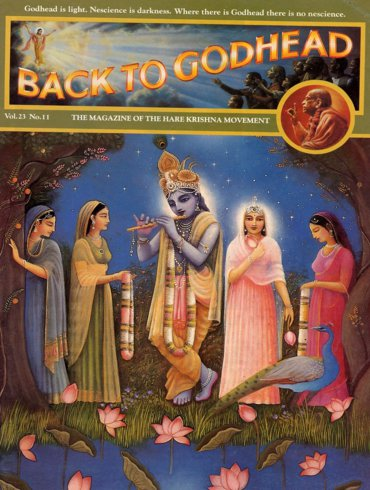 Back To Godhead Volume-23 Number-11, 1988