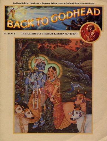 Back To Godhead Volume-24 Number-05, 1989