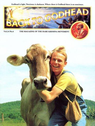 Back To Godhead Volume-24 Number-06, 1989