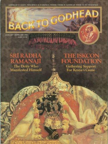 Back To Godhead Volume-26 Number-01, 1992