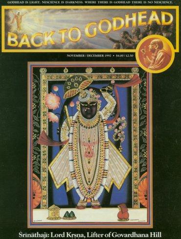 Back To Godhead Volume-26 Number-06, 1992