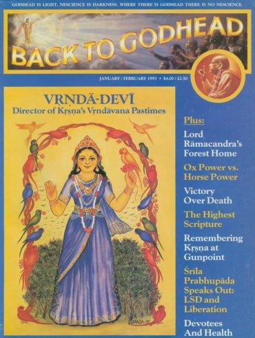 Back To Godhead Volume-27 Number-01, 1993