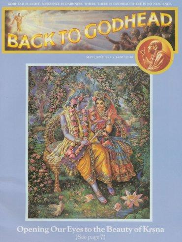Back To Godhead Volume-27 Number-03, 1993