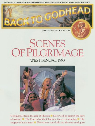 Back To Godhead Volume-27 Number-04, 1993