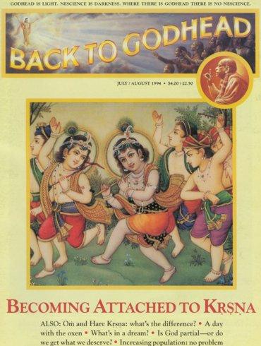 Back To Godhead Volume-28 Number-04, 1994