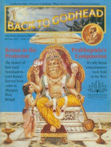Back To Godhead Volume-30 Number-03, 1996