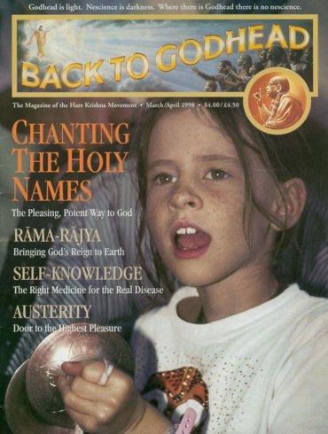 Back To Godhead Volume-32 Number-02, 1998