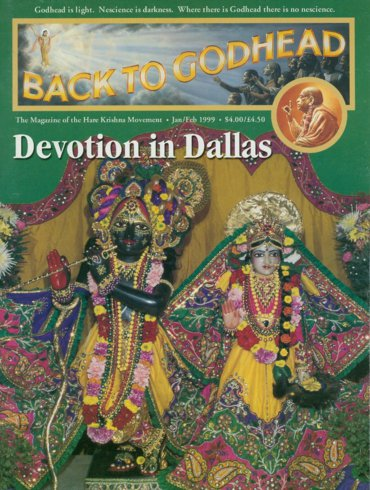 Back To Godhead Volume-33 Number-01, 1999