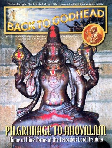 Back To Godhead Volume-35 Number-01, 2001