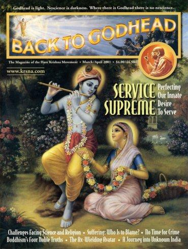 Back To Godhead Volume-35 Number-02, 2001