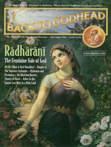 Back To Godhead Volume-35 Number-04, 2001