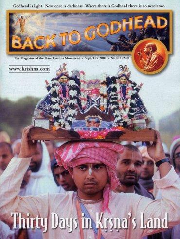 Back To Godhead Volume-35 Number-05, 2001