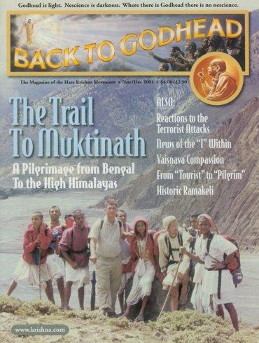 Back To Godhead Volume-35 Number-06, 2001